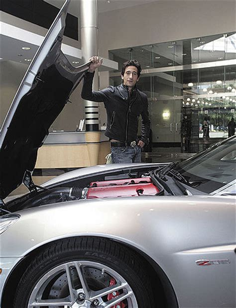 chrysler southton here is your chance to buy adrien brody s corvette