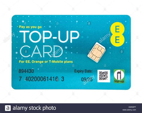pay as you mobile ee pay as you go top up card with sim for ee orange or t