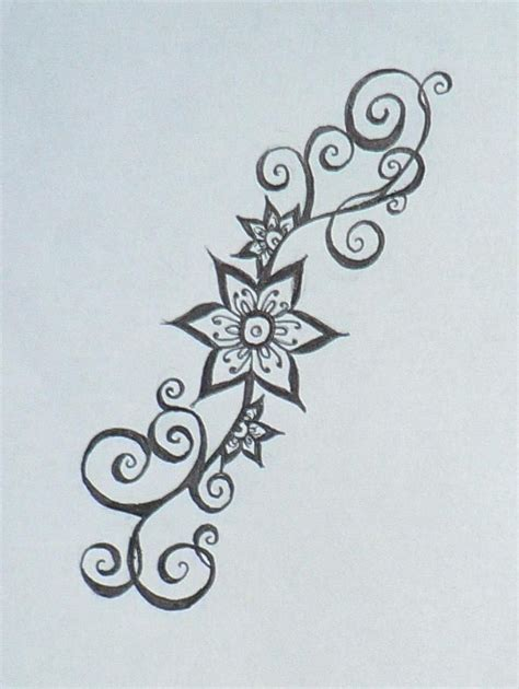 mehndi flower tattoo designs 25 best ideas about henna flower designs on