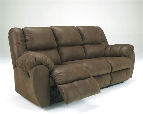 ashley furniture reclining sofas 3270187 ashley furniture quarterback canyon reclining
