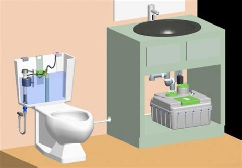 grey water toilet sloan s innovative aqus grey water toilet system recycles