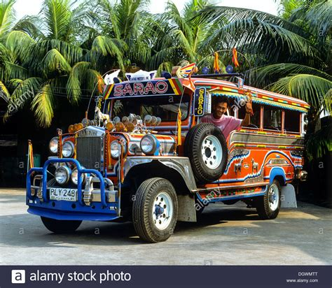 philippine jeepney jeepney taxi collective taxi driver greeting with a