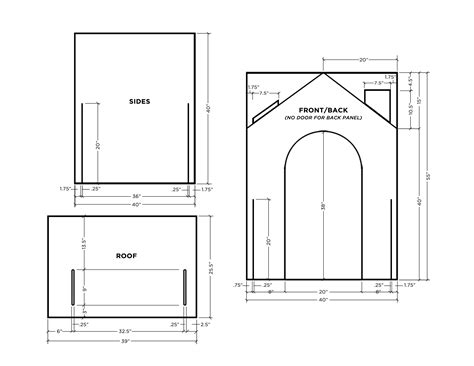 how to make a house plan make a collapsible playhouse a beautiful mess