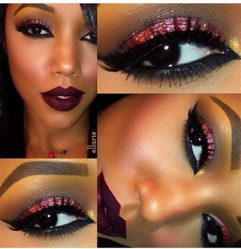 how to apply blush to african american girls eye makeup 69 best african american women images on pinterest