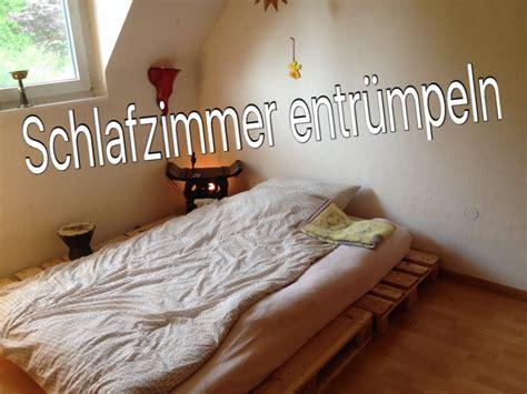 schlafzimmer umbauen minimalismus schlafzimmer ausmissten umbauen