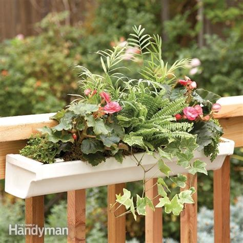 deck how to build a deck planter the family handyman