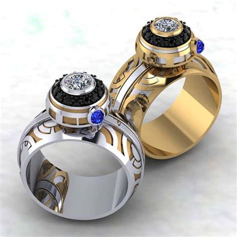 8 Awesome Ways To Ring In The New Year by The Handmade Wars Bb 8 Spinner Ring Gadgetsin