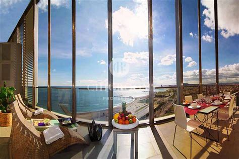 Appartments For Rent Barcelona by Mid Term Apartment For Rent With Sea Views In Diagonal Mar
