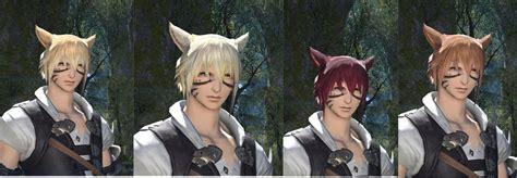 ffxiv change hair colour character creation screenshot thread ffxiv