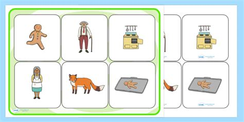 gingerbread man matching game printable the gingerbread man matching cards and board the gingerbread