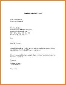 6 simple retirement letter janitor resume