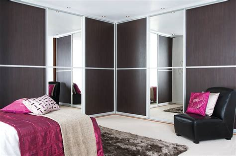 sliderobes fitted wardrobes grey brown walnut and charcoal bedrooms