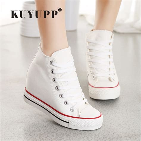 Sepatu Boot Casual Wanita Hm 009 sneaker wedges for trends and chic looks