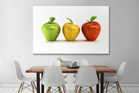 decoration murale cuisine design tableau d 233 co pommes izoa