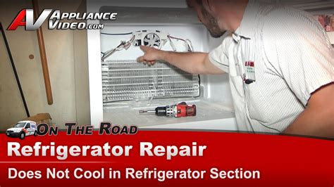 whirlpool refrigerator evaporator fan not working amana whirlpool maytag refrigerator repair not