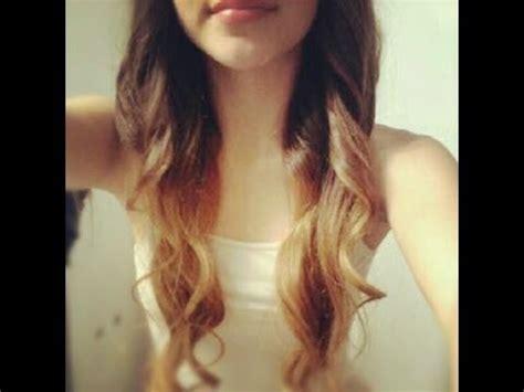 diy ombre hair tutorial