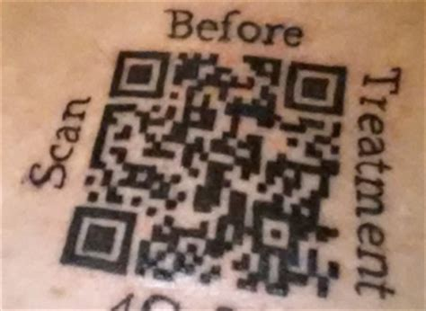 the barcode tattoo chapter questions and answers why i got a qr code tattooed on my sternum