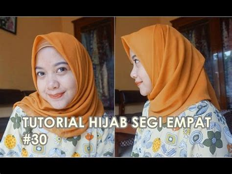 tutorial hijab turban segi empat youtube tutorial hijab segi empat paris 30 indahalzami youtube