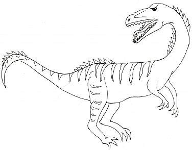 triassic dinosaurs coloring pages procompsognathus theropod triassic dinosaur coloring page