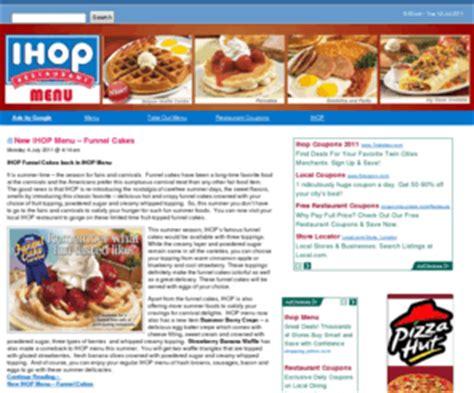 ihop menucom ihop menu ihop menu prices