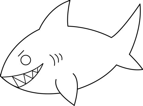 Fish Outline Clip by Fish Outline Clipart Black And White Clipart Panda Free Clipart Images