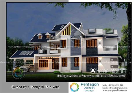 home designer pro square footage 3110 square feet double floor contemporary home design