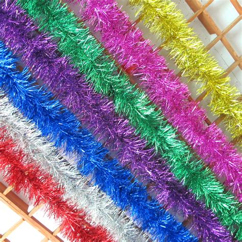 online buy wholesale gold tinsel garland from china gold
