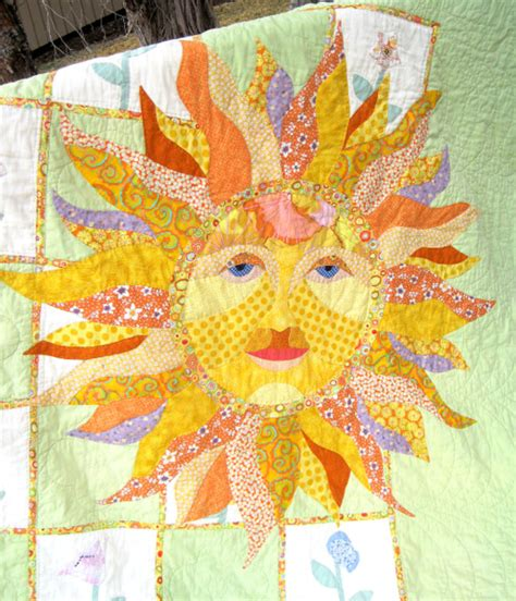 Sun Quilt Pattern by Quisters Quilt 187 Light Designs