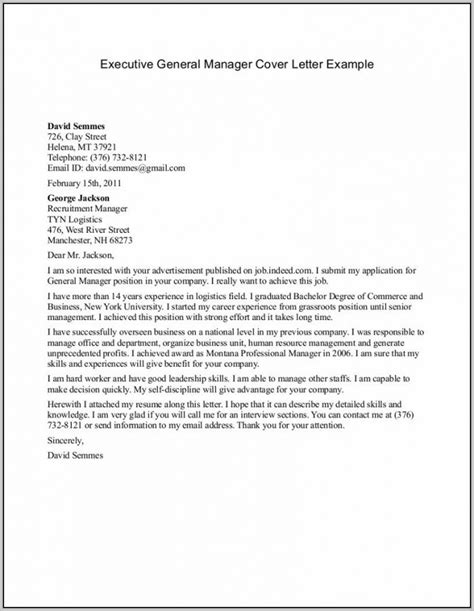 Introduction Letter Project Manager resume cover letter exles operations manager cover