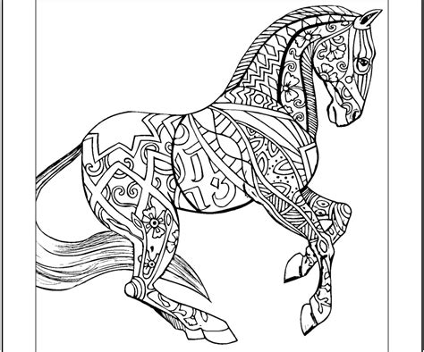 coloring pics horses coloring pages animal coloring pages all