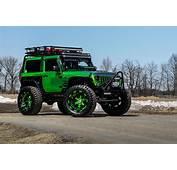 Jeep Wrangler On Forgiato Terra 24 Inch  Off Road Wheels