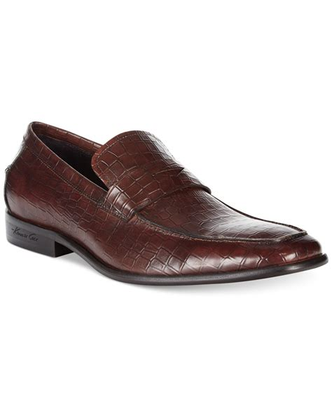 kenneth cole mens loafers kenneth cole tage point loafers in brown for