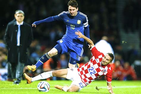 argentina vs croatia score report and reaction from