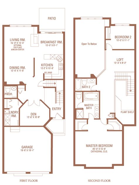 carleton floor plans carleton donven homes