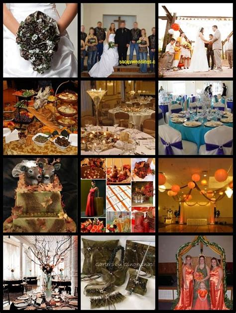 Camo Wedding Decor by 17 Best Images About Orange And Camo Wedding On