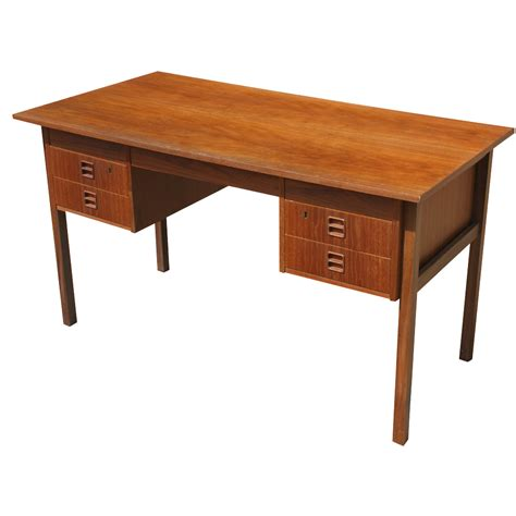 51 Quot Danish Teak Wood Desk Mr9018 Ebay Wood Desk