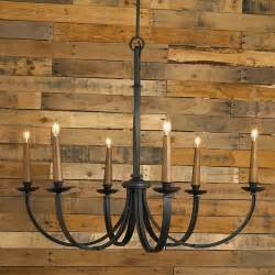 Iron Chandeliers Rustic Modernized Rustic Iron Chandelier Large Chandeliers