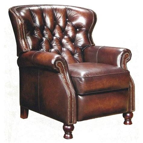 wingback leather recliners leather wingback recliner chairs pinterest