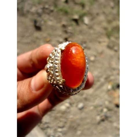 Cincin Batu Bulu Landak 02 by Cincin Pandan Merah Pusaka Dunia