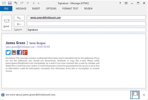 html format email signature create an html iphone email signature exclaimer