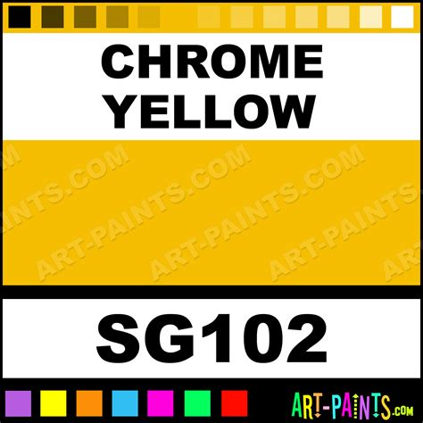 yellow paint code chrome yellow ford