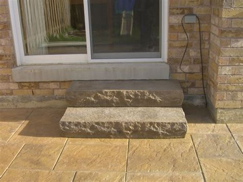 Diy Patio Steps by How Is It To Build Front Steps With Patio Stones