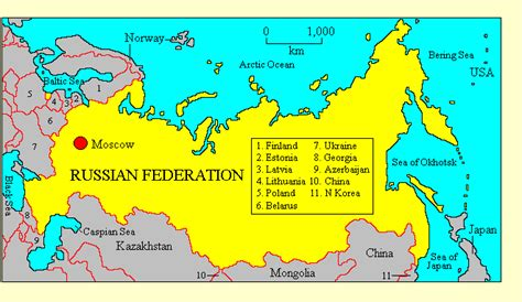 Mainaim Of Russia by Who Countries Russian Federation