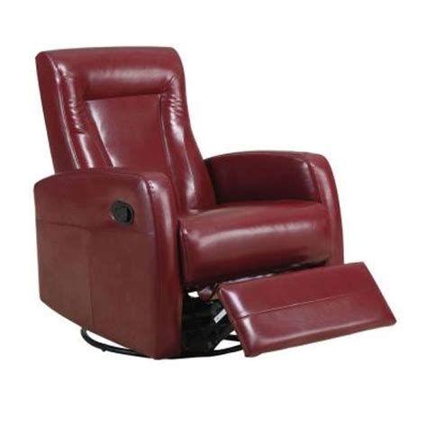 Leather Recliner Swivel Rocker by Bonded Leather Swivel Rocker Recliner I8082rd The