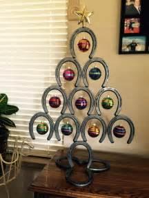 Horse shoe christmas tree http www facebook com photo php fbid