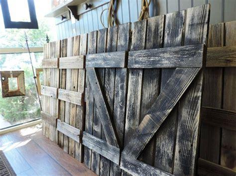 reclaimed barn wood window shutters   pane