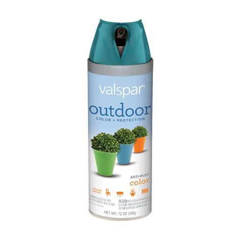 shop valspar  oz peacock blue gloss spray paint  lowescom
