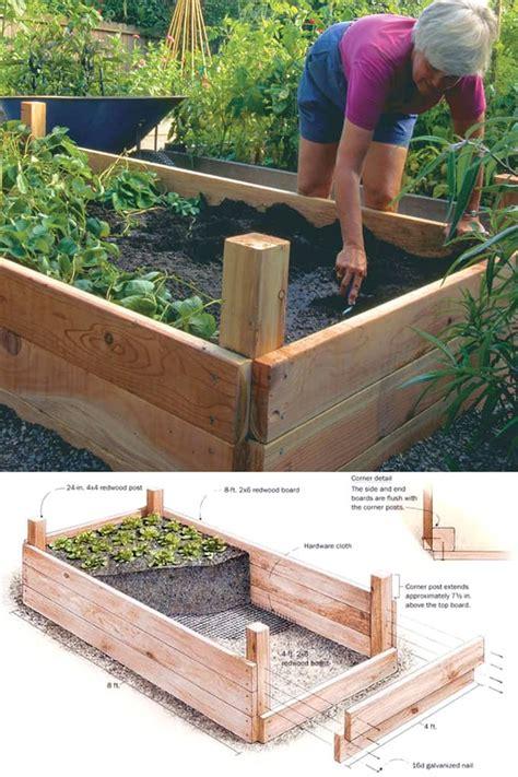 amazing diy raised bed gardens  piece  rainbow