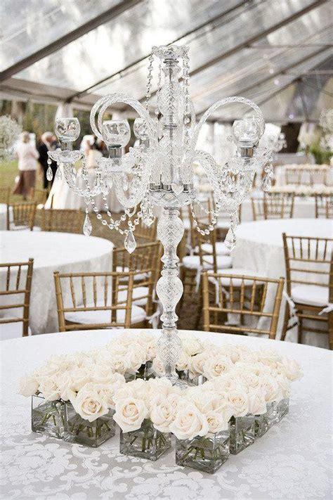 Cheap Plastic Chandeliers Rustic Vintage Styled Wedding Centerpieces Weddbook
