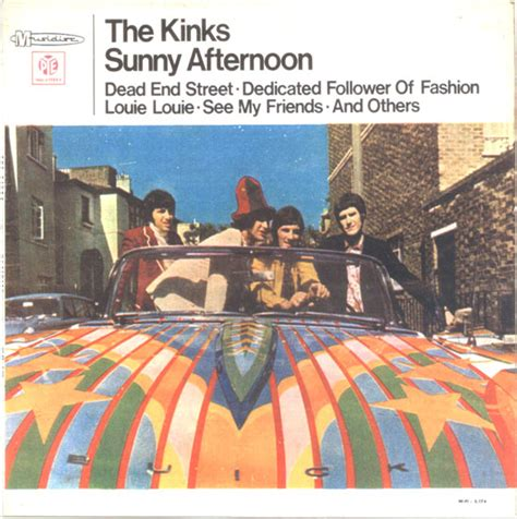 the kinks sitting on my sofa sunny afternoon